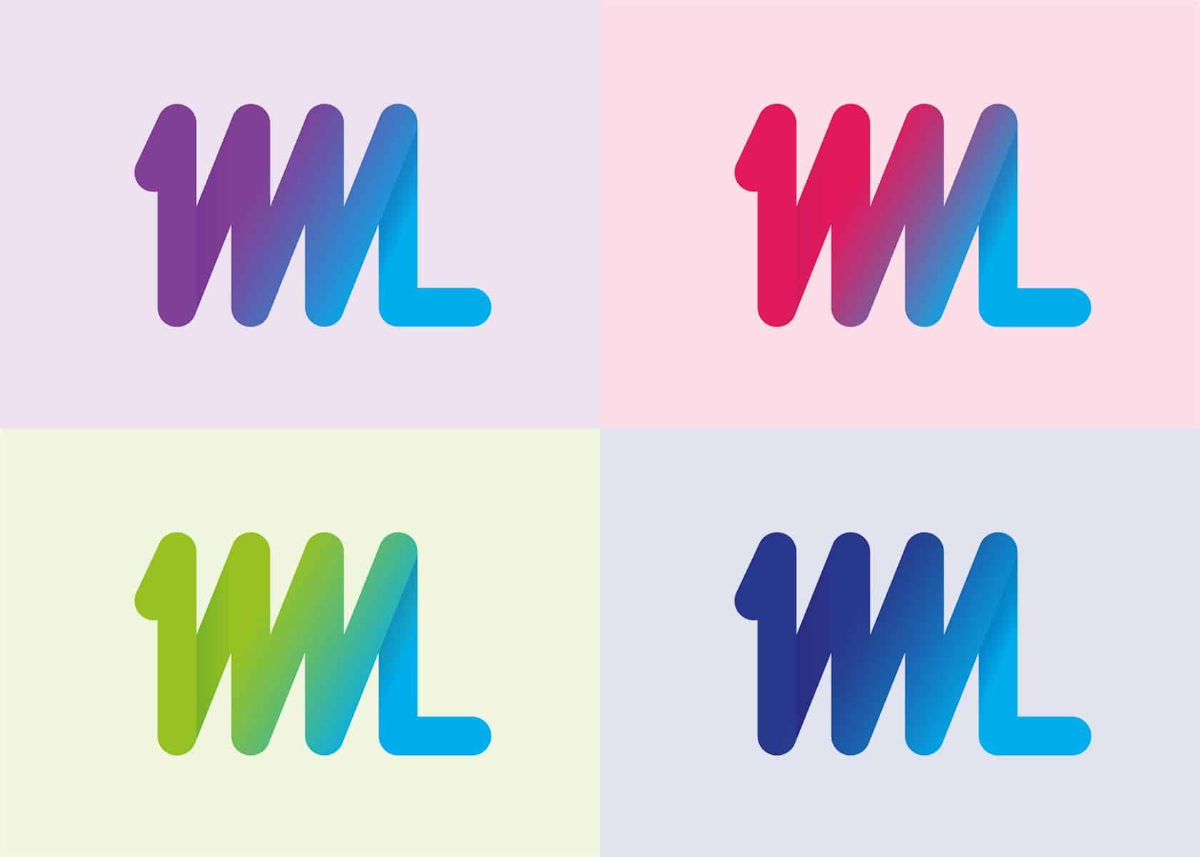 New 1WL Logo in 4 colourways